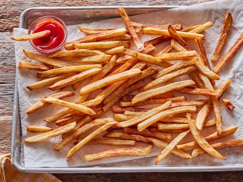 Бельгийский картофель фри
