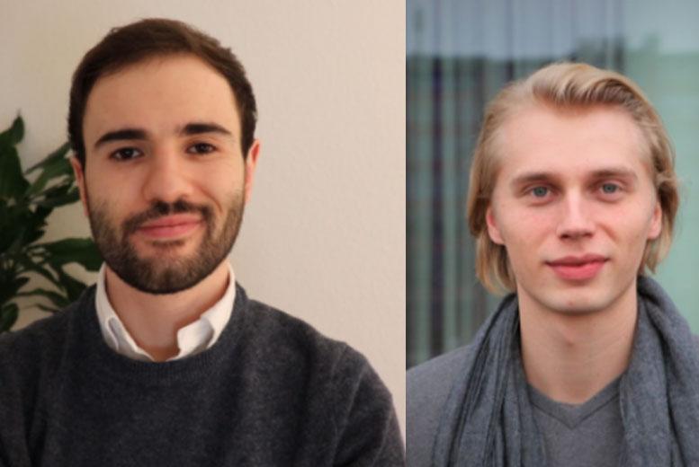 Янн Декроос (Германия) и Матье Экке (Франция) - аналитики Mangrove