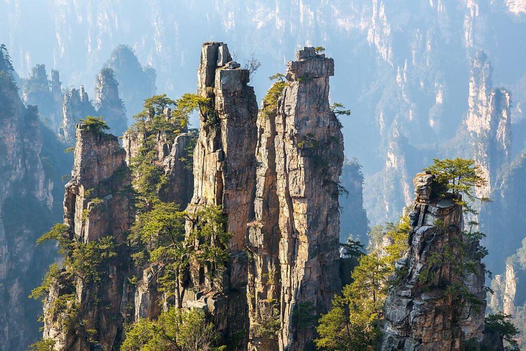 Улинъюань, Китай