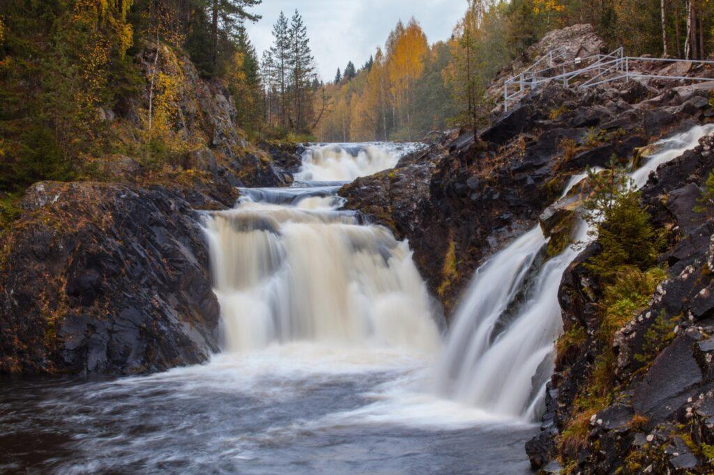 Водопад Кивач и дендрарий