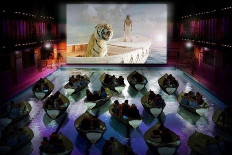Кинотеатр в Париже
