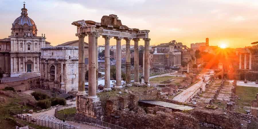 Июль в Риме