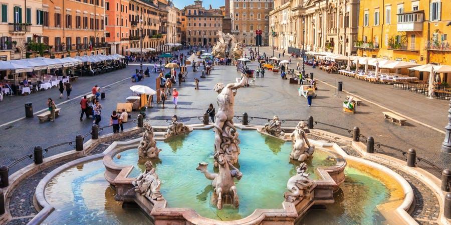 Май в Риме