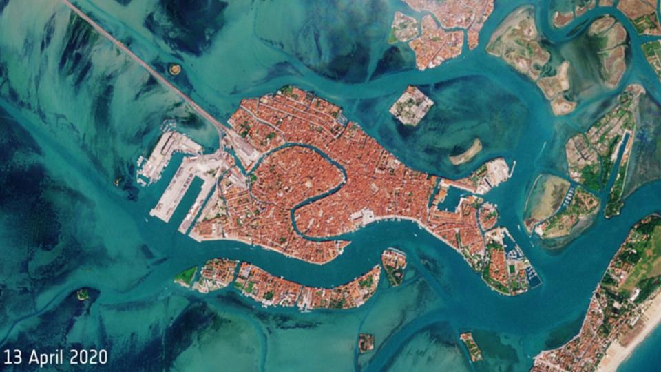 Венеция имеет форму рыбы