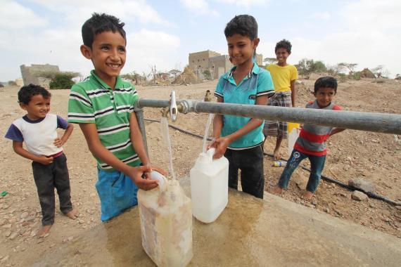 15 млн человек нуждаются в поддержке в области водоснабжения и канализации