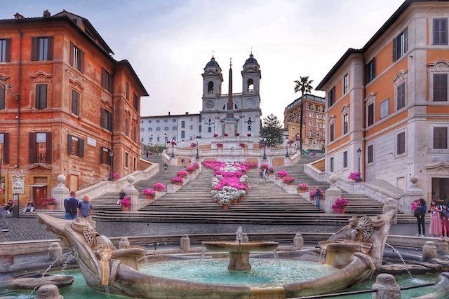 Весна - лучшее время, чтобы насладиться красотой Рима