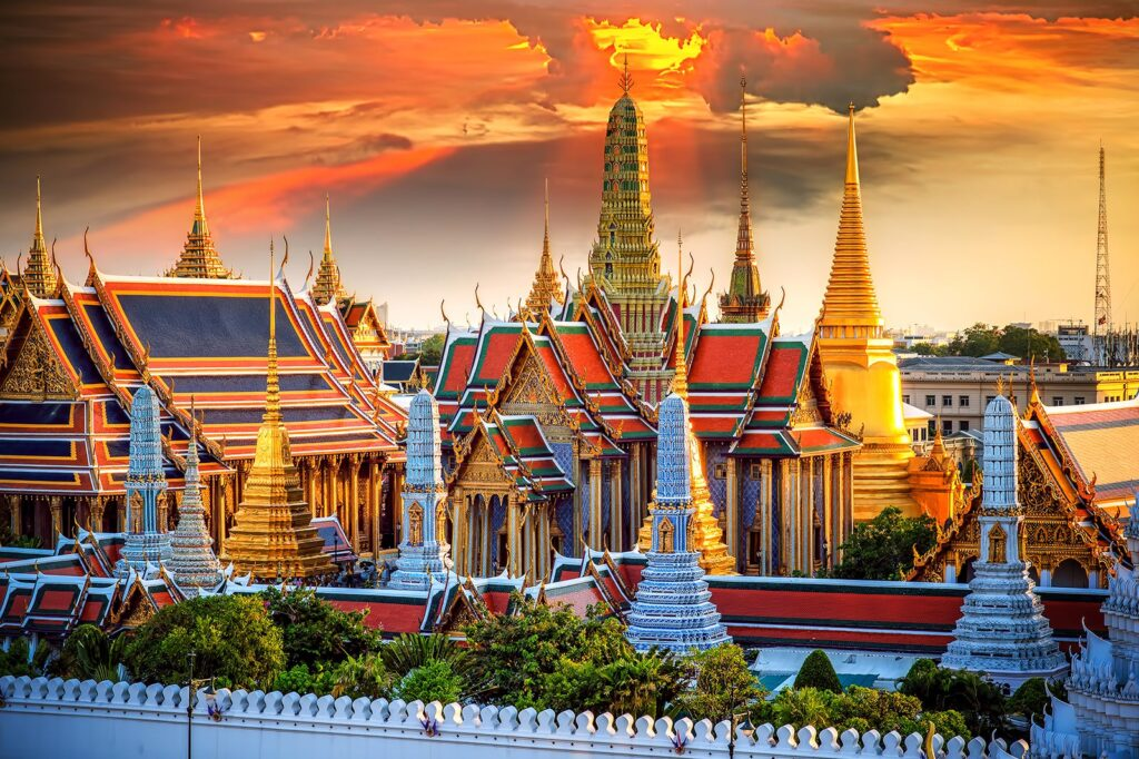 Большой дворец - Бангкок, Таиланд