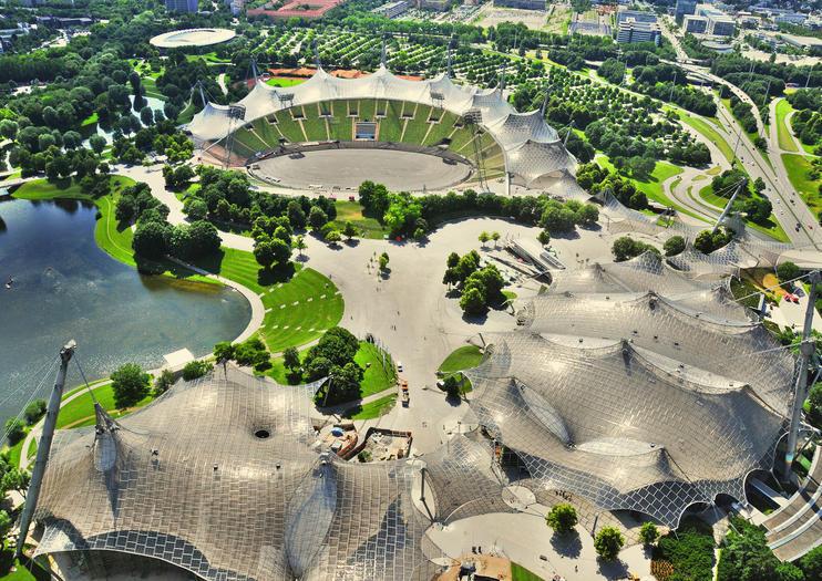 Олимпийский парк - Мюнхен, Германия
