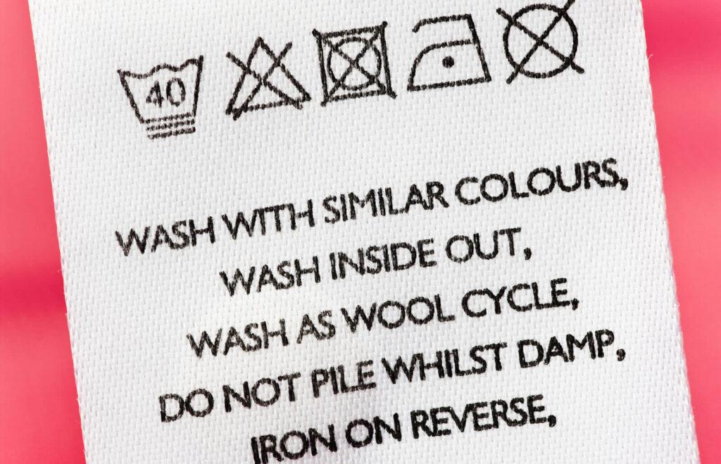 Бирки с инструкциями действительно важны