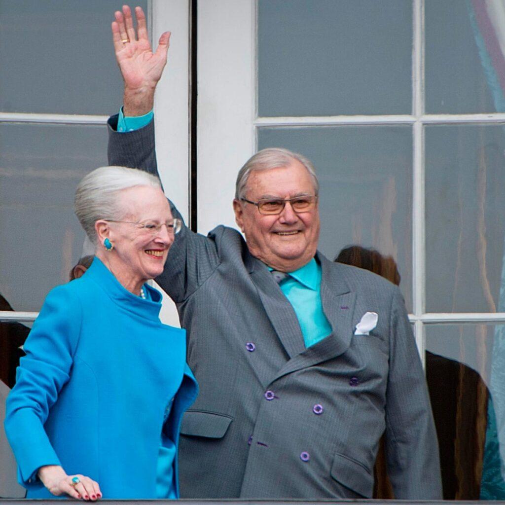 Королева Маргрете II и Анри де Лаборд де Монпеза, 51 год - Дания