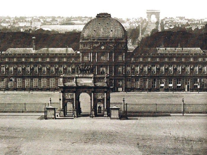 Дворец Тюильри - Париж, Франция