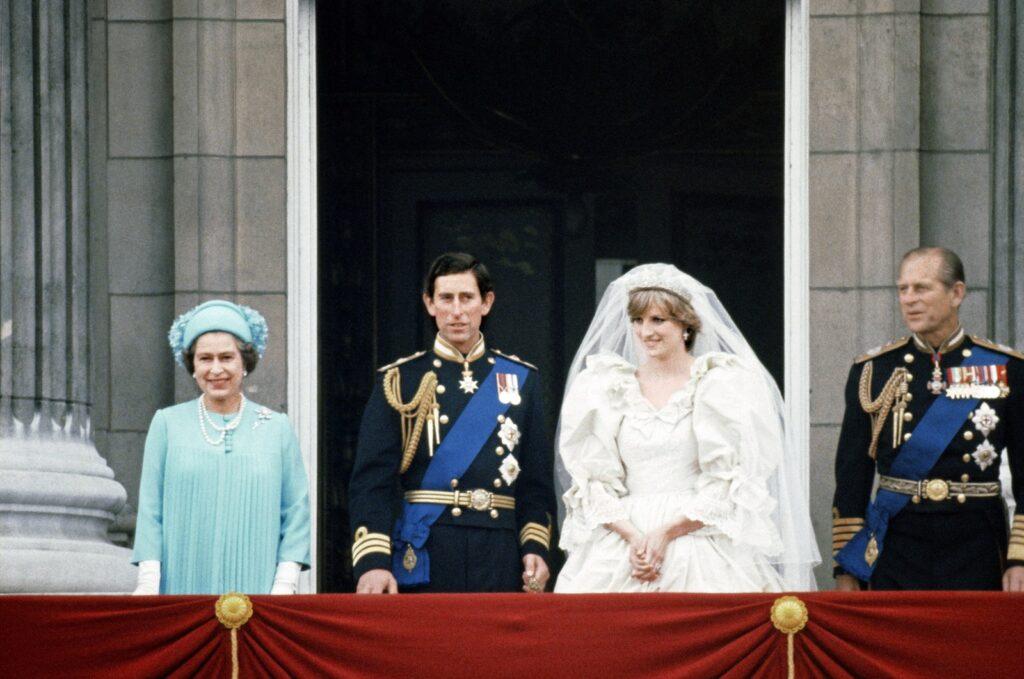 После свадьбы Дианы и Чарльза