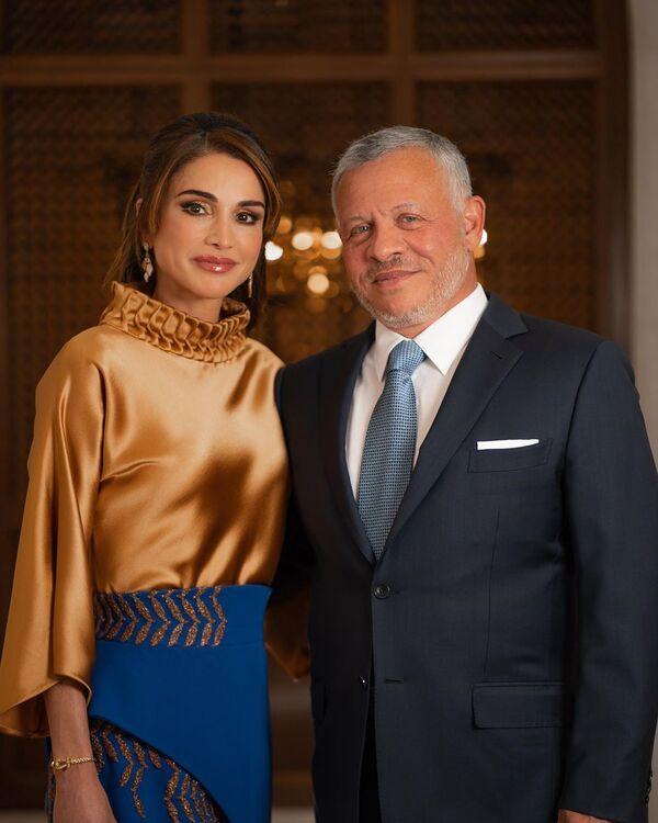 Король Абдалла II и королева Рания, 28 - Иордания