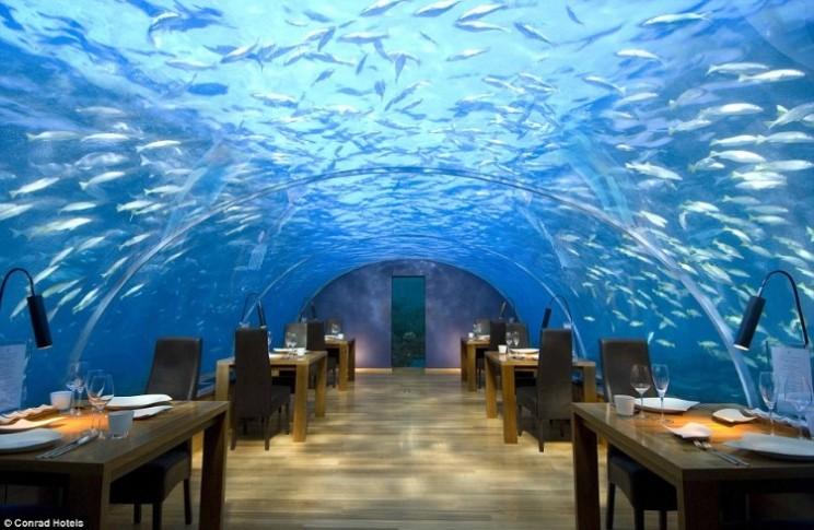 Подводный ресторан Итха, Мальдивы