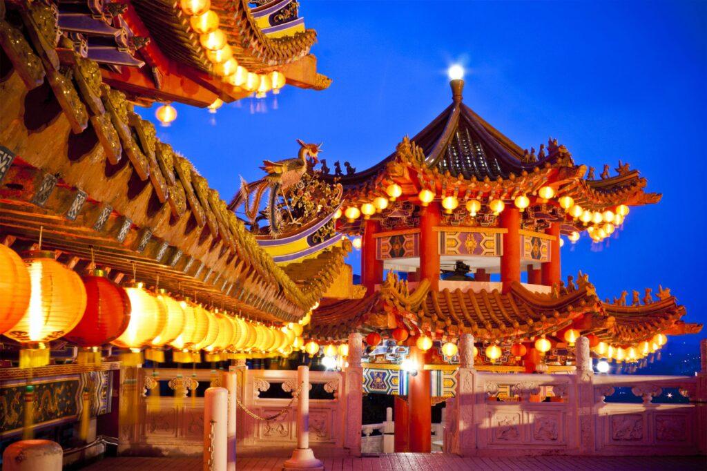 Храм Тянь Хоу - Куала-Лумпур, Малайзия