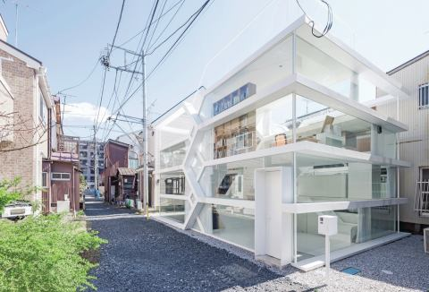S-House, Сайтама, Япония