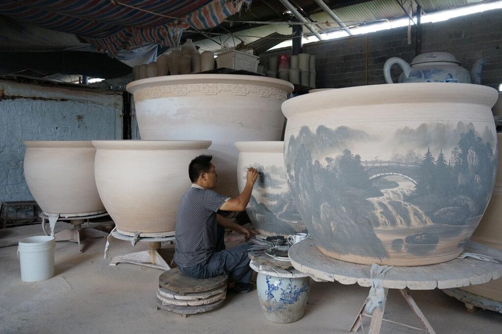 Самый известный фарфоровый город Китая - Цзиндэчжэнь