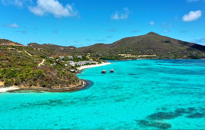 Сент-Винсент и Гренадины - 389,3 км²