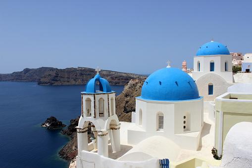Купольные крыши - Санторини, Греция