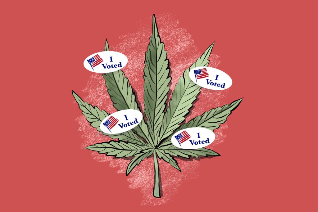 Поддержка легализации марихуаны сильно варьируется в зависимости от возраста и партии