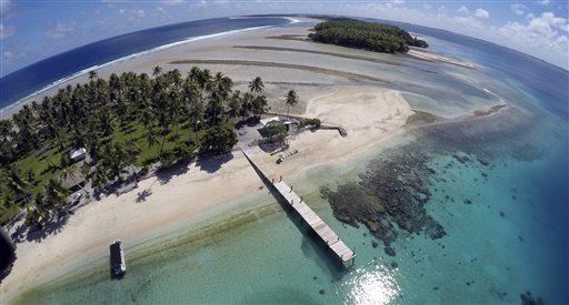 Маршалловы острова - 181,3 км²