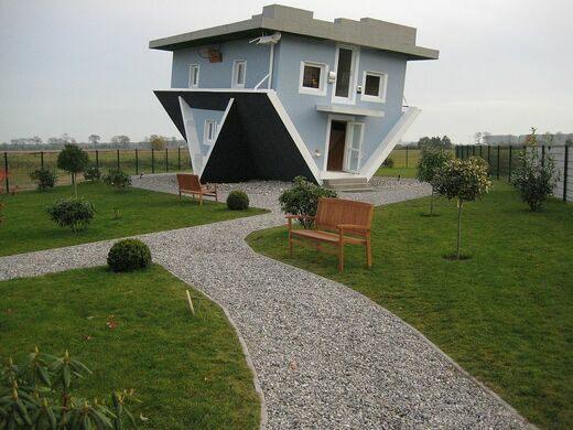 Перевернутый дом, Трассенхайде, Германия