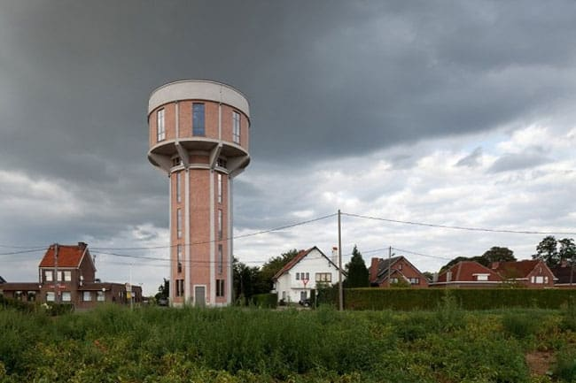 Старая водонапорная башня, Бельгия