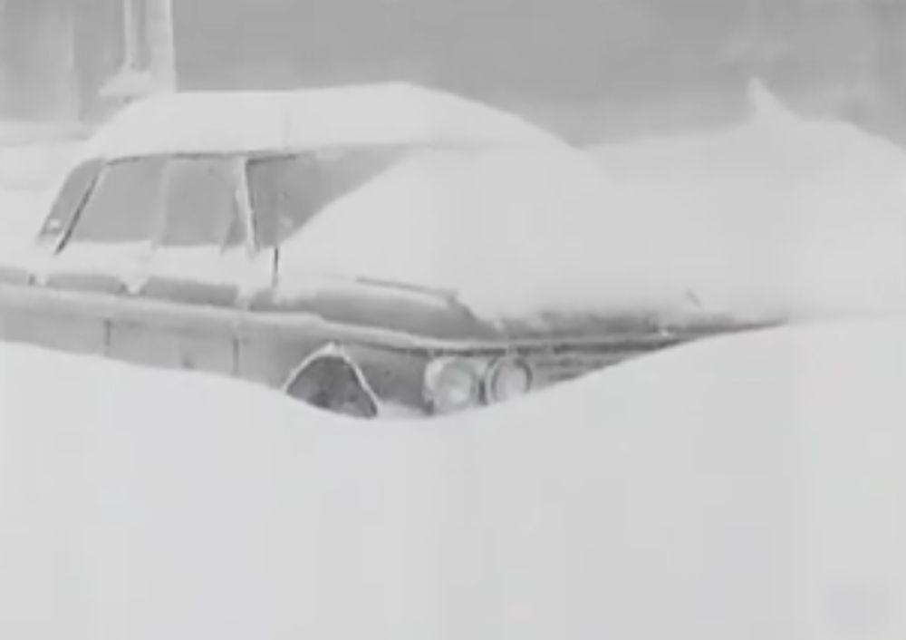 Рекорд по количеству снега, выпавшего за один день, составил 43 см