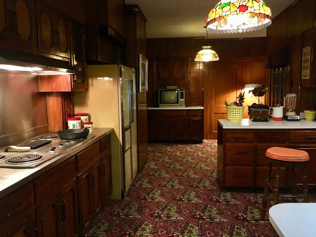На кухне в Грейсленде у Элвиса всегда были его любимые блюда
