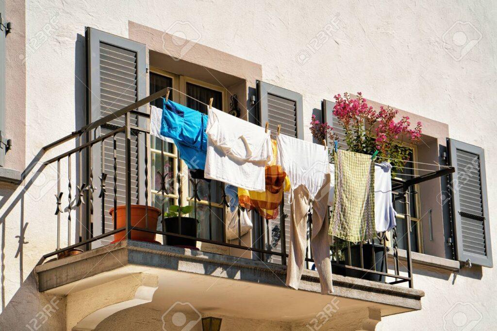 Нет сушилок для одежды