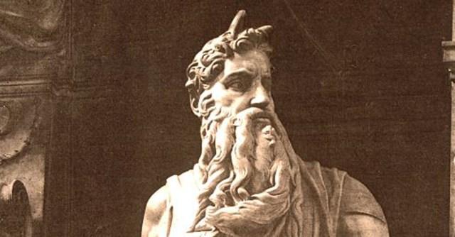 У Моисея были рога?
