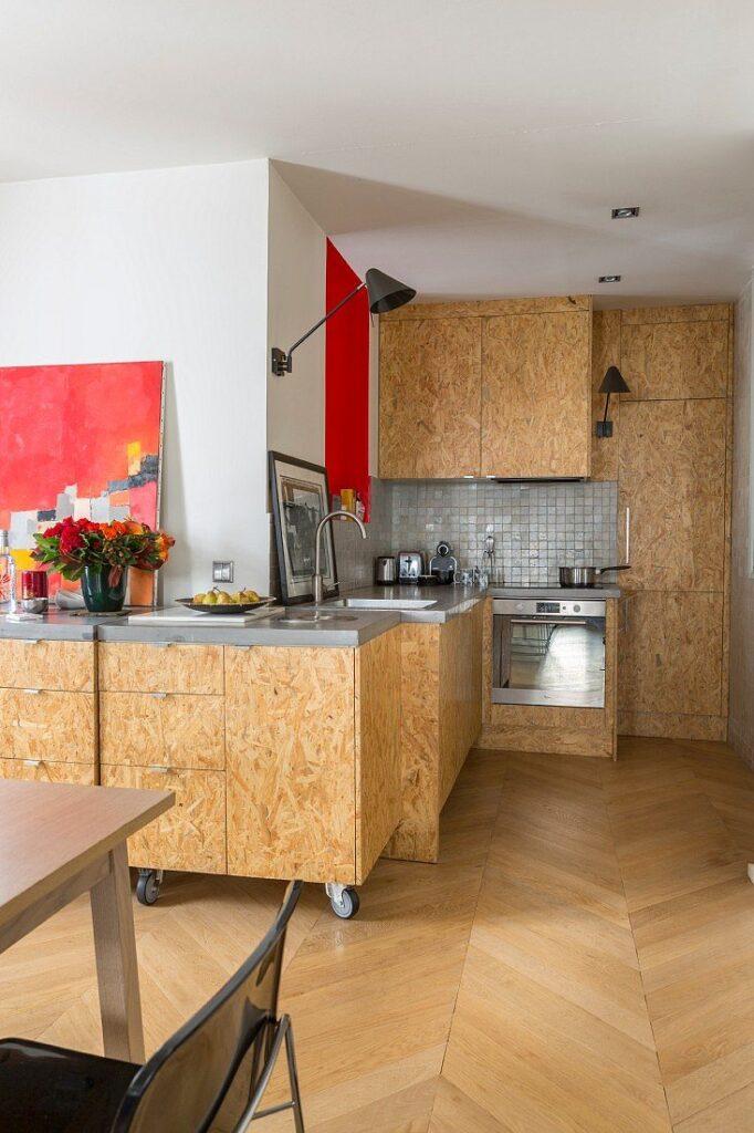 Для чего используется древесно-стружечная плита?