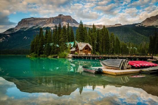 Эмералд Лейк Лодж, Британская Колумбия, Канада