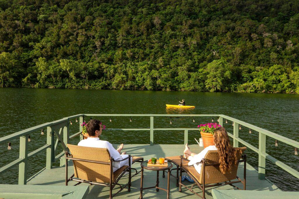 Спа-курорт на озере Остин, Техас, США