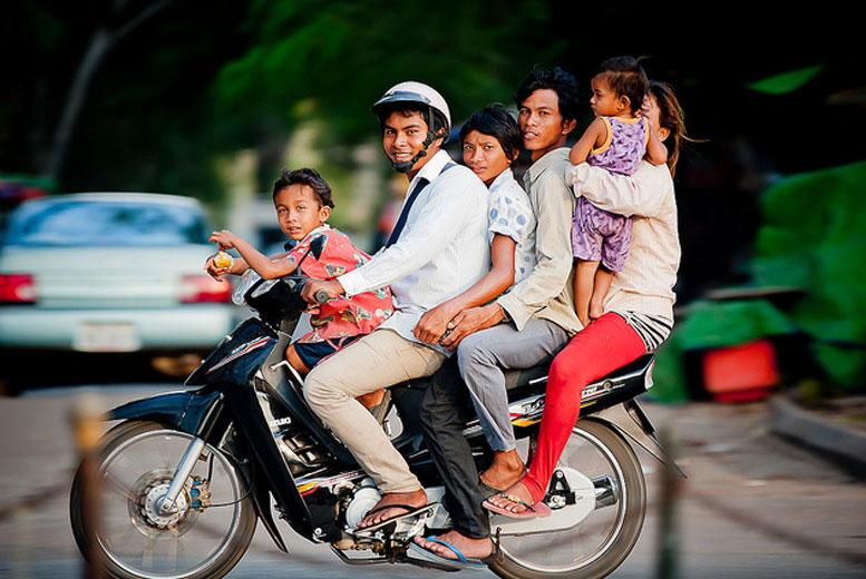 Страны, где очень популярны мотоциклы