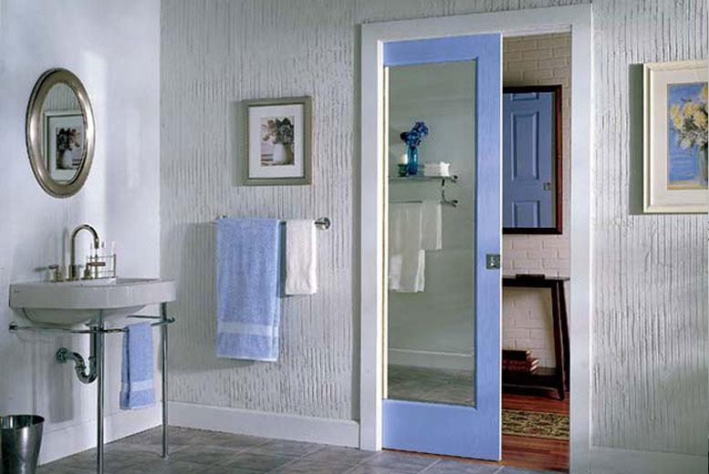 8 дизайн-идей с дверями с зеркалом