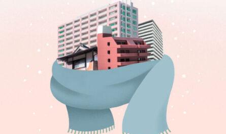 Почему японские квартиры не утепляют?