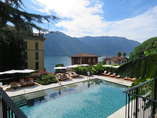 Гранд-отель Тремеццо, озеро Комо, Италия