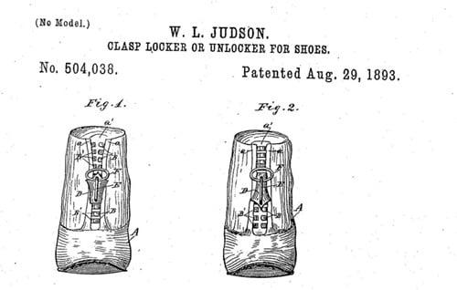 Застежка-молния была изобретена в 1893 году