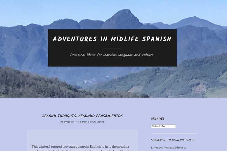 Учиться никогда не поздно: Adventures in Midlife Spanish