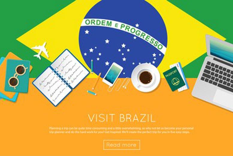 Контент сайта VisitBrasil