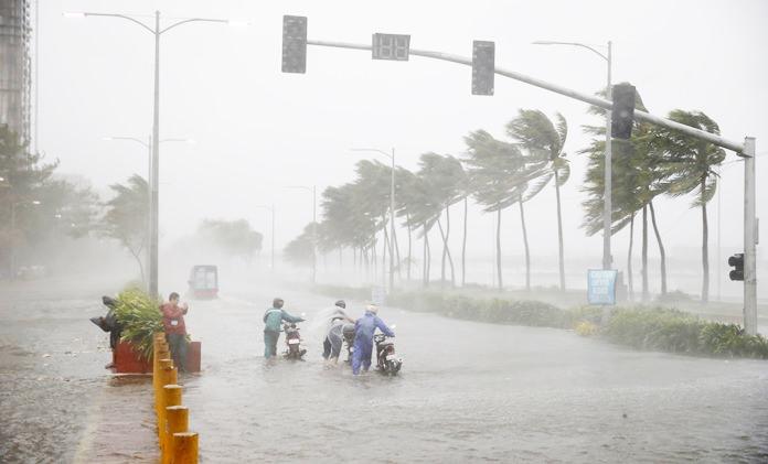 Ветер - самый смертоносный элемент урагана