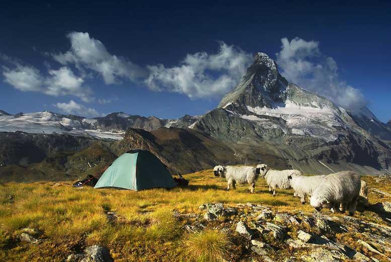 Где в Европе можно разбить палатку, а где нельзя