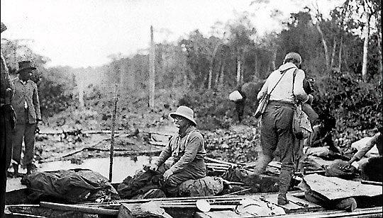 Теодор Рузвельт способствовал появлению у пираний репутации каннибалов