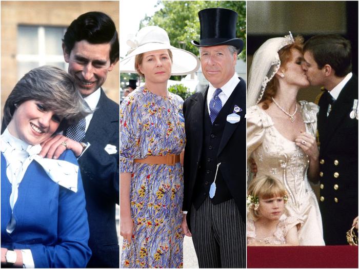 Трое из четырех детей королевы развелись