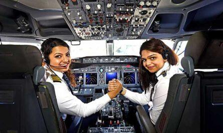 В какой стране больше всего женщин-пилотов?