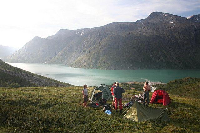 Кемпинг в Норвегии