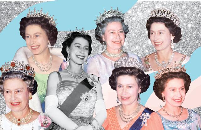 У королевы есть несколько корон