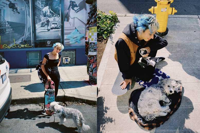 Интервью со скейтбордисткой Лиззи Арманто