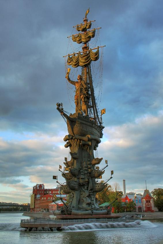 Памятник Петру I, Москва